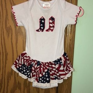 Other - Babygirl cowgirl onesie dress❤️ $8